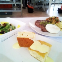 NDS Chefs Academy - Student dish presentation